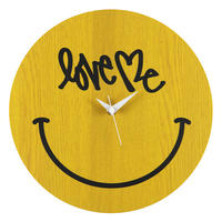 "WALL CLOCK "" SMILE "" made by KARIMOKU"