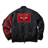 WISDOM EYES BOMBER JACKET