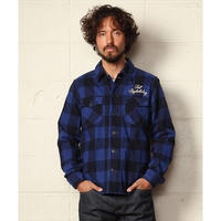PIECE DYED BUFFALO CHECK SHIRTS