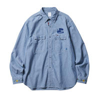 PEACE CHAMBRAY SHIRT