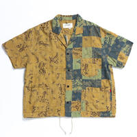 AN106 S/S PATCH WORK COVERALL SHIRT
