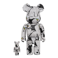 BE@RBRICK FLOWER BOMBER 100% & 400% from UK