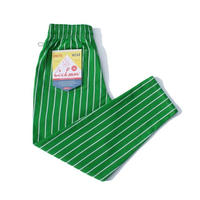 Chef Pants 「Stripe」 LIGHT GREEN