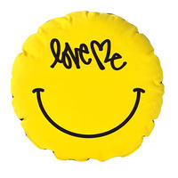 "CIRCLE CUSHION "" SMILE """