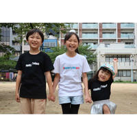 Kids(キッズ)用:Angler's Utopia Tシャツ [ホワイト/ブラック]