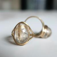 primitive ring (ルチルクォーツ)13号