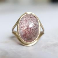 primitive ring (ストロベリークォーツ)11号