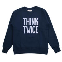 ※LYOCELL FLEECE CREW THINK... -NAVY-
