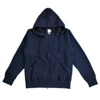 ※MERINGUE FLEECE ZIP PARKA -NAVY- H183-0401