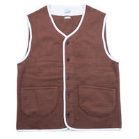 * CORDUROY FLEECE VEST -2 COLORS- R183-0608