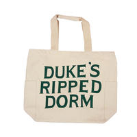 CANVAS GRAPHIC TOTE -DUKE'S-