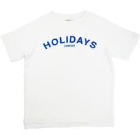 * LOWGAUGE INLAY S/S TEE HOLIDAYS -3COLOR- H191-0103
