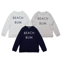 "S※LOWGAUGE INLAY L/S TEE ""BEACH BUM""  -3 COLORS- RHC83"