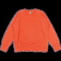 ※7.5 oz. USA FLEECE RAGLAN SWEAT  -ORANGE- R185-0303