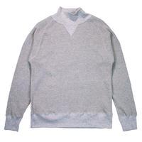 ※18/- WAFFLE TURTLE NECK -MIX GRAY- H185-0105