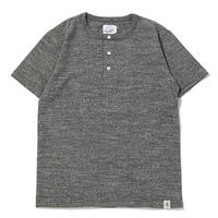 ※LOOP WHEEL HENLEY S/S TEE -MIX CHARCOAL- R185-0202