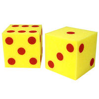 Giant Soft Foam Dot Cubes ジャイアントスポンジさいの目サイコロ