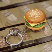 Burger keychain
