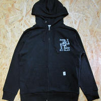 Thrills! Spills! Zip Parka Black