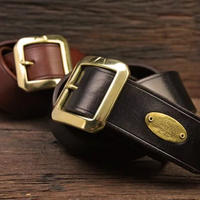 CLASSIC TEA CORE LEATHER BELT TYPE-2
