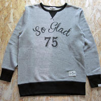 So Glad Vintage French Terry Sweat V・H×Black