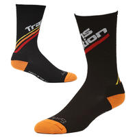 "Transition Bikes Wool Socks ""Split Logo/ Sunset Fade"""