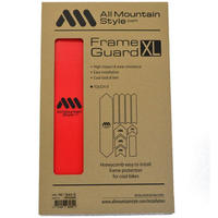 AMS Honeycomb Frame Guard XL. RED