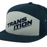 Transition Bikes  7 Panel Strapback Navy