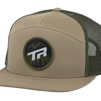 Transition Bikes  7 Panel Trucker Khaki
