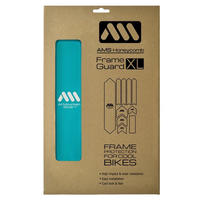 AMS Honeycomb Frame Guard XL. BLUE TURQUOISE
