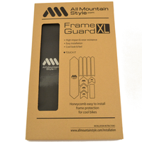 AMS Honeycomb Frame Guard XL. BLACK
