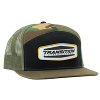 Camo Patch Trucker Hut