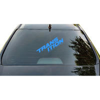 "Die Cut Window Decal ""TR Split Logo"""