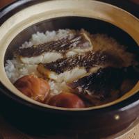 【季節の一汁一菜】いさきと梅の炊き込みご飯 2人前