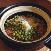 【季節のくちなし】桜えびとうすい豆の炊き込みご飯 2人前