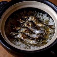 【季節の一汁一菜】鮎の炊き込みご飯 2人前