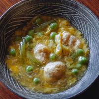 【季節の一汁一菜】鯛の子とうすい豌豆の玉締め 2人前