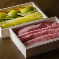 【季節の鍋】和牛と夏野菜しゃぶしゃぶ  2人前