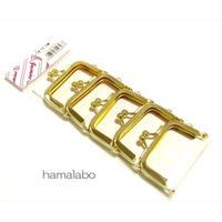 【HA-1692】5.5cm口金/(ゴールド) 5本セット
