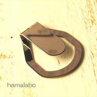 【HA-636】<身に付けるがま口>ぶら下げ用ベルトフック&帯フック(シルバー)