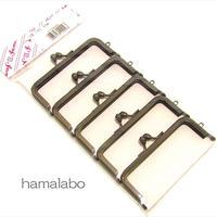【HA-1737】8.5cm口金/(ブラック) 5本セット