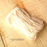 無料!【HA-619】マスク用ゴム(丸ゴム) 3mm幅×5メートル 白色