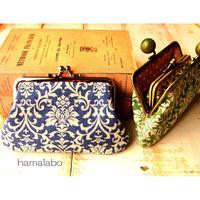 【KT-2025】親子がま口の財布(ペッタンコ)の型紙&レシピ【12cm角型用】