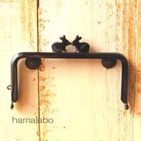 5月1日販売開始!限定販売!【HA-1704】12cm/角型(ペアウサギ×ブラック)