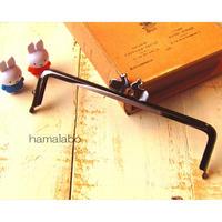【HA-1709】アウトレット16.5cm/角型(ペアウサギ×ブラック)