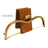 【HA-1259】メガネ型口金(アメ玉×アンティーク)