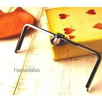7月4日販売開始!【HA-1587】オコシ式口金18cm/角型(ネコ×ブラック)カン付き