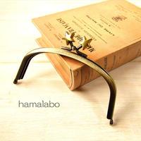 8月26日販売開始!【HA-1876】12.5cmくし型(足長)/(メタルスター×アンティークゴールド)