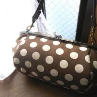 【KT-3003】がま口俵型バッグの型紙&レシピ【27cm用】