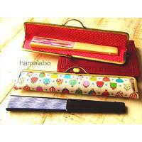 10月17日販売開始!【KT-2061】がま口扇子入れの型紙&レシピ【25.5cm用】